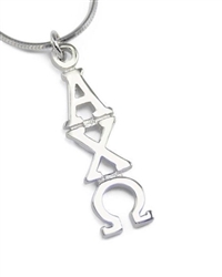 Sterling Lavalier - Alpha Chi (charm only)