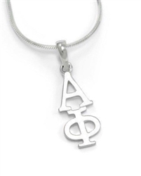 Sterling Lavalier - Alpha Phi (charm only)
