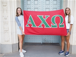 Alpha Chi Omega Sorority Flag