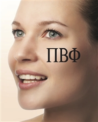 Face Tattoos - Pi Phi