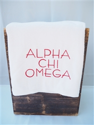 Alpha Chi Omega Pool Towel