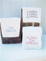 Delta Zeta Pool Towel