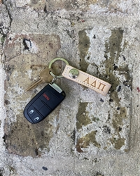 Jon Hart Key Ring - Alpha Delta Pi