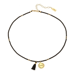 NNY Beaded Choker - Theta