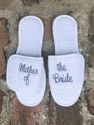 Custom Mother of the Bride Slippers