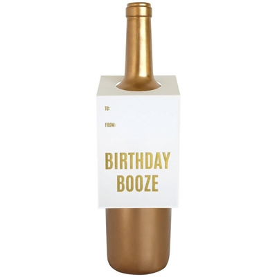 Birthday Booze Bottle/Spirit Tag