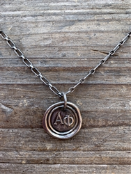 WP Silver Charm - Alpha Phi
