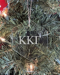 Glass Ornament - Kappa Kappa Gamma