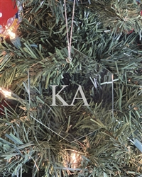 Glass Ornament - Kappa Alpha
