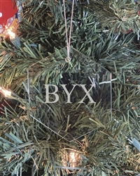 Glass Ornament - Brothers Under Christ (BYX)
