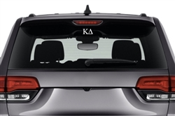 Kappa Delta Sorority Car Decal