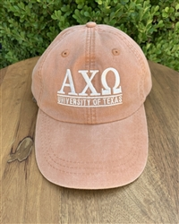 UT Burnt Orange Hat- Alpha Chi