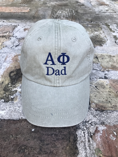 bc6987e98d7 Alpha Phi Dad Sorority Hat