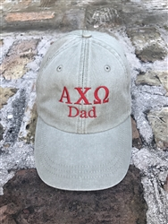Dad Red Sorority Hat - Alpha Chi