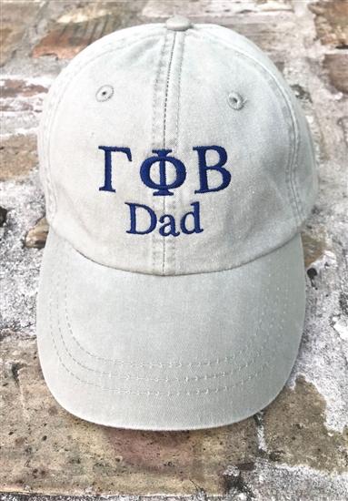 Gamma Phi Beta Dad Sorority Hat d7e3ee7bbae2
