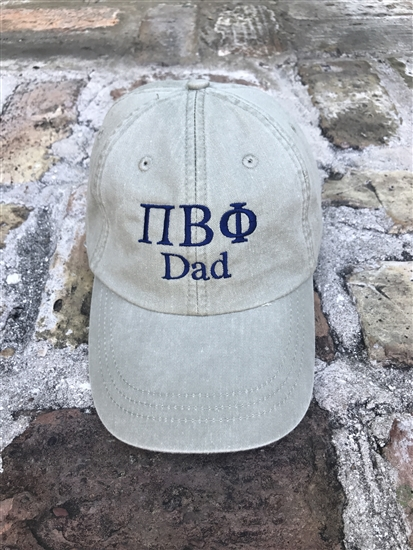 d298a718453 Pi Beta Phi Dad Sorority Hat