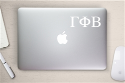 Gamma Phi Beta Sorority Computer Decal