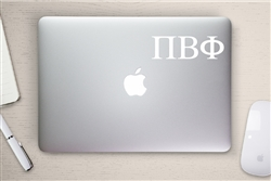 Pi Beta Phi Sorority Computer Decal
