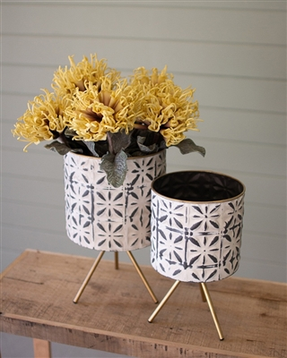 Metal Planter - Small ​*In-Store or Curbside Pickup Only