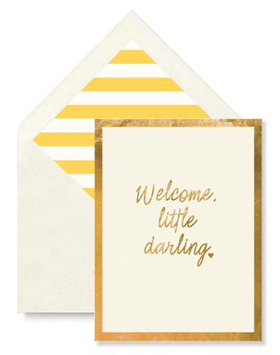 Welcome, Little Darling Card