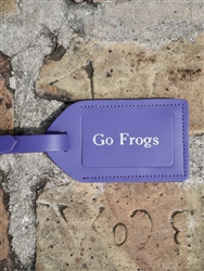 Jon Hart Go Frogs Luggage Tag