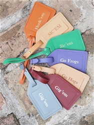 Jon Hart Luggage Tag (select your color)