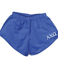 Blue Sorority Shorts - Alpha Chi