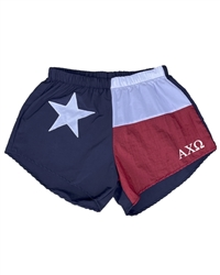 Texas Sorority Shorts - Alpha Chi