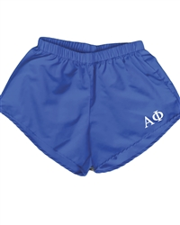 Blue Sorority Shorts - Alpha Phi