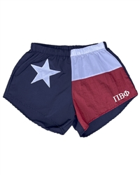 Texas Sorority Shorts - Pi Phi