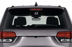 Delta Zeta Sorority Car Decal