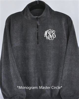 Custom Gray Fleece