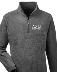 Gray Fleece - UT Alpha Chi