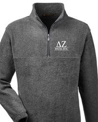 Gray Fleece - Delta Zeta