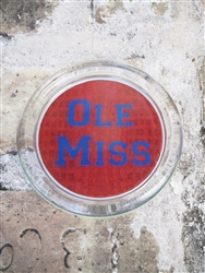 Ole Miss Red Coaster