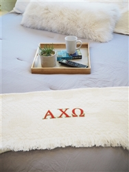 Alpha Chi Omega Keepsake Blanket