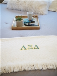 Alpha Xi Delta Keepsake Blanket