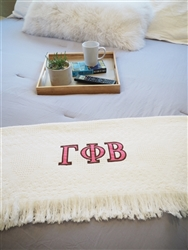 Gamma Phi Beta  Keepsake Blanket