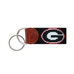 SB Key Fob - Georgia (black)
