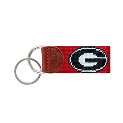 SB Key Fob - Georgia (red)