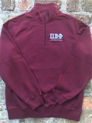 Wine Sweatshirt - Pi Phi 2 Colors