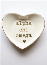 Sorority Ring Dish - Alpha Chi Omega