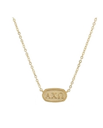 Athena Necklace - Alpha Chi Omega