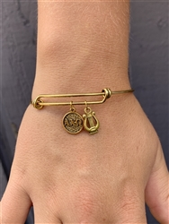 Alpha Chi Gold Bangle