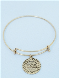Chevron Greek Bracelet - Alpha Chi Omega