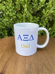 Alpha Xi Delta Sorority Dad Coffee Mug
